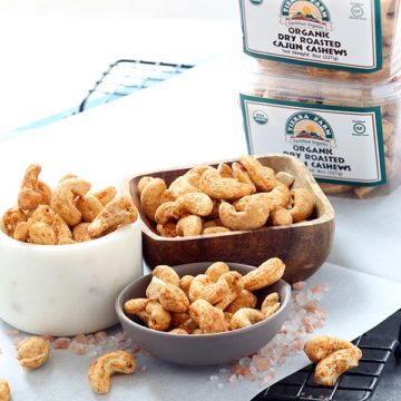 Tierra Farm Organic Dry Roasted Cajun Cashews
