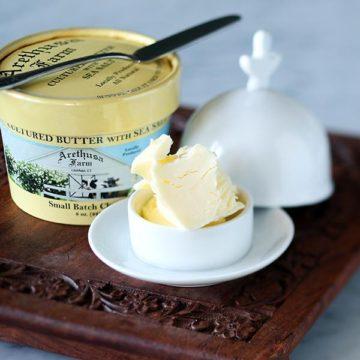 Arethusa Farm Cultured Butter With Sea Salt