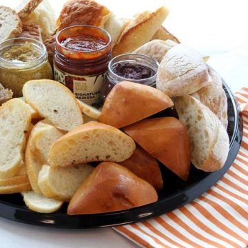 Savory Breads  + Spreads
