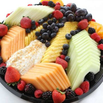 Fresh Fruit + Yogurt